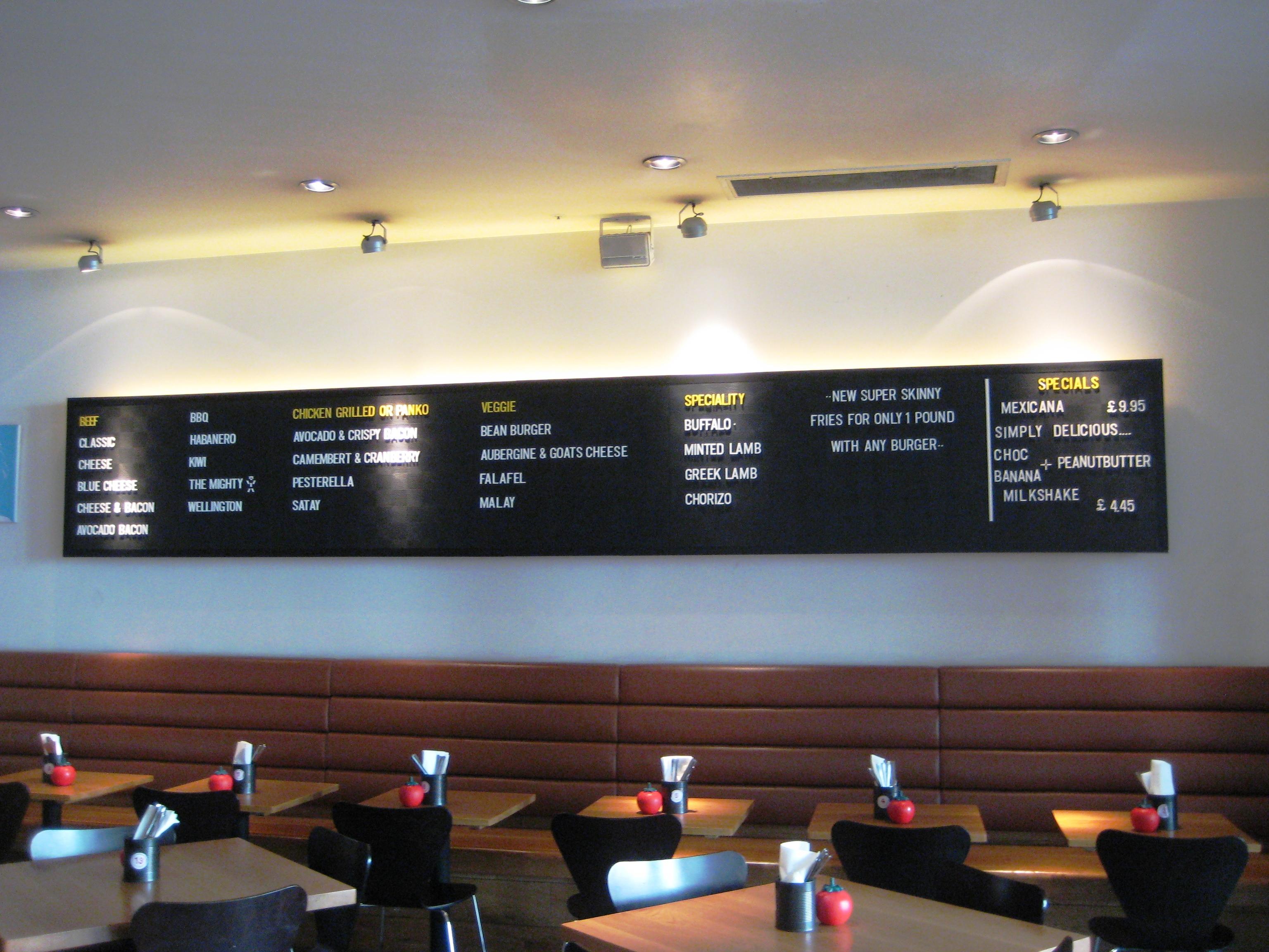Gourmet Burger Kitchen St Paul S Canary Wharf Littlelauletloose